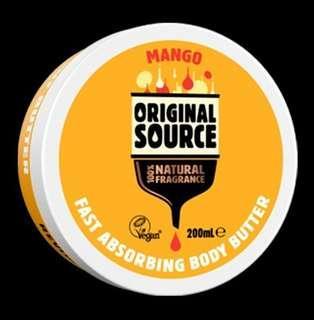 Original Source Body Butter Mango - 200 ml