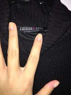 Fashion Nova Little Black Dress