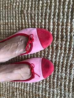 Repetto suede flats, size 40, Aus 8.5