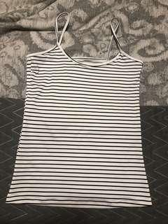 Mango fitted tank top