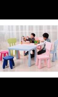 Kids table (slight defect)