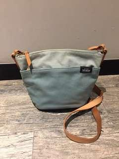 Kate Spade small crossbody with leather strap & details