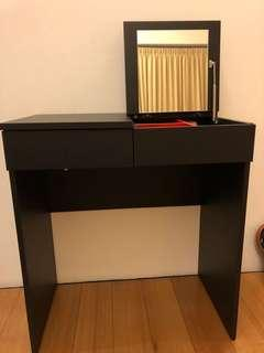 Ikea dressing table (Black)