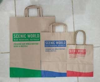 Paperbag Paper Bag Tas Karton Scenic World Blue Mountains Australia