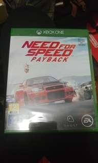 (Xbox one) Need of speed Payback