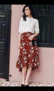Fashmob Hayes Asymmetrical Skirt