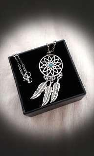 CHRISTMAS/FESTIVE SALES - Dream Catcher Earrings and Necklace set (exclude box)
