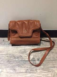 Cole Haan all leather crossbody