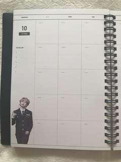 BTS Jimin Mighty J Season Greeting Planner