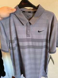 Nike Golf Zonal Cooling Polo in Gunsmoke, Size L