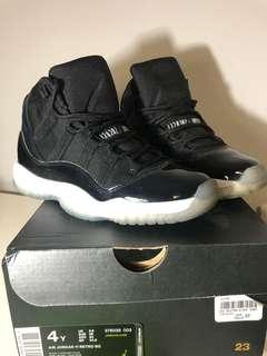 Space Jam 11s Size 4Y