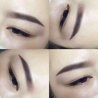 Misty eyebrow Embroidery