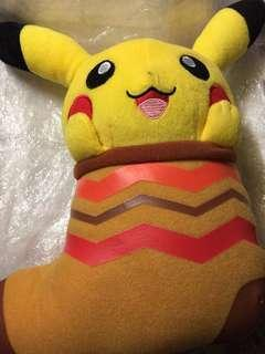 Pokemon 比卡超/皮卡丘襪形毛公仔(32x25)cm ,順豐到付,面交(請看個人簡介)