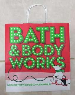 Paperbag Paper Bag Tas Karton Bath & Body Works