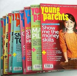 Young Parents Magazines (Year 2011 -2012)
