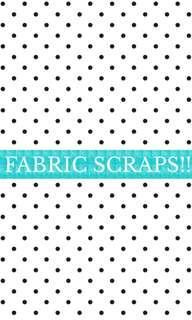 Bag of fabric scraps !!