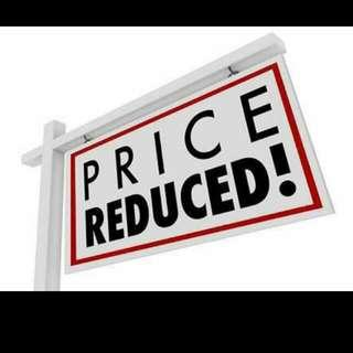 price down!
