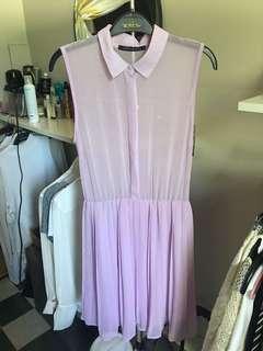 Pastel purple dress