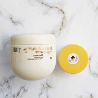 Inaura Hair Nutrient Soya with Glycine Soja oil share 100/150ml