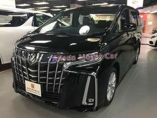 Toyota ALPHARD FACELIFT S 2.5