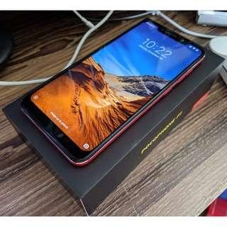 [Local Set] Xiaomi Pocophone F1 64GB 6GB Red