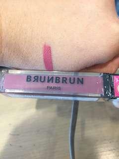 Brunbrun lip, blush, shadow