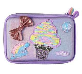 💖Sale!!!💖 Authentic Smiggle Badge Hardtop Pencil Case