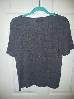 Babaton grey tshirt sz S
