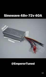 Sinewave 48v-72v 40A Controller
