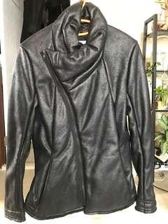 Leather Jacket Initial