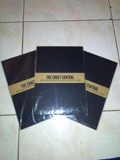 Black Calligraphy Pad by The Craft Central