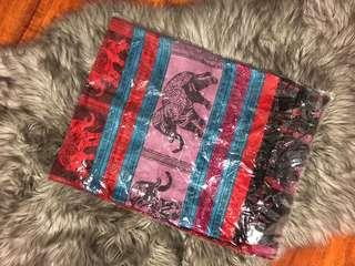 (NEW) Elephant Print Pashmina from Thailand