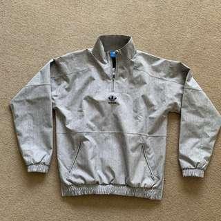 adidas half-zip jacket - size S