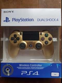 PS4 Dualshock 4 wireless controller (Golden)