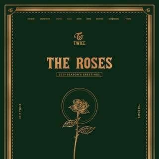 [PREORDER] TWICE Seasons Greetings - The Roses