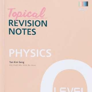 PHYSICS TOPICAL REVISION GUIDE