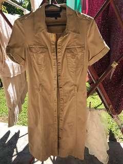 Tommy hilfiger authentic beige dress coat