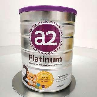 ﹝全新﹞紐西蘭The a2 Milk Company Platinum Premium Follow-on 2號奶粉(6個月起)﹝New﹞The a2 Milk Company Platinum Premium Follow-on Firmula 2 (From 6 months)