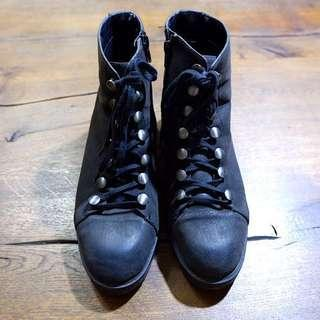 Charles&Keith Black Boots