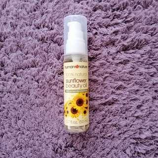 Sunower Beauty Oil