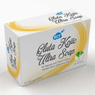 SCT Gluta Kojic Ultra Whitening Herbal Soap 135g