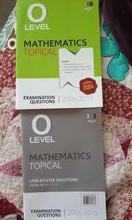 O levels maths 10 years series