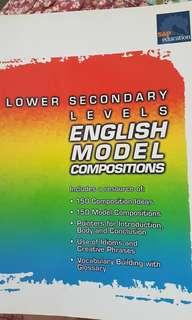 Lower sec English model compositions