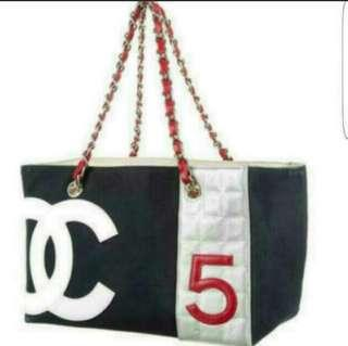 Chanel No.5 Shopping Bag