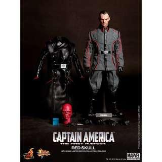 Hot Toys Red Skull Captain America: The First Avenger Movie Masterpiece Series (MSS 167) 1:6 Scale Figure