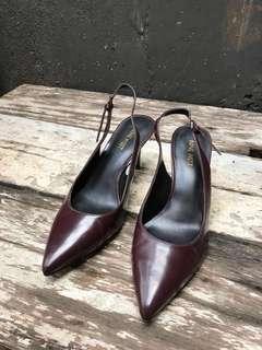 Nine West Maroon heels preloved murmer