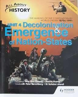 SEC 4 - ALL ABOUT HISTORY/MATH/MARSHALL CAVENDISH CHEMISTRY & PHYSICS/CHINESE/EPH 10 YEARS SERIES REFERENCE BOOKS