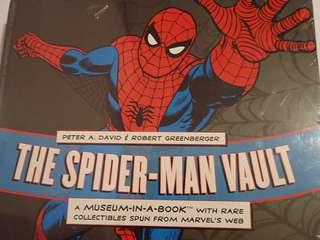 Spider-Man Vault: A Museum-in-a-Book with Rare Collectibles Spun from Marvel's Web