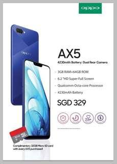 OPPO AX5.  Trade with Huawei. Samsung. OPPO Plus u Topup