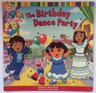 Dora the Explorer: The Birthday Dance Party